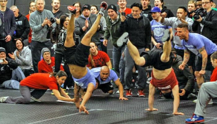 Celebrating our Grand Opening AND the Beginning of the 2013 CrossFit Season on March 9, 2013.